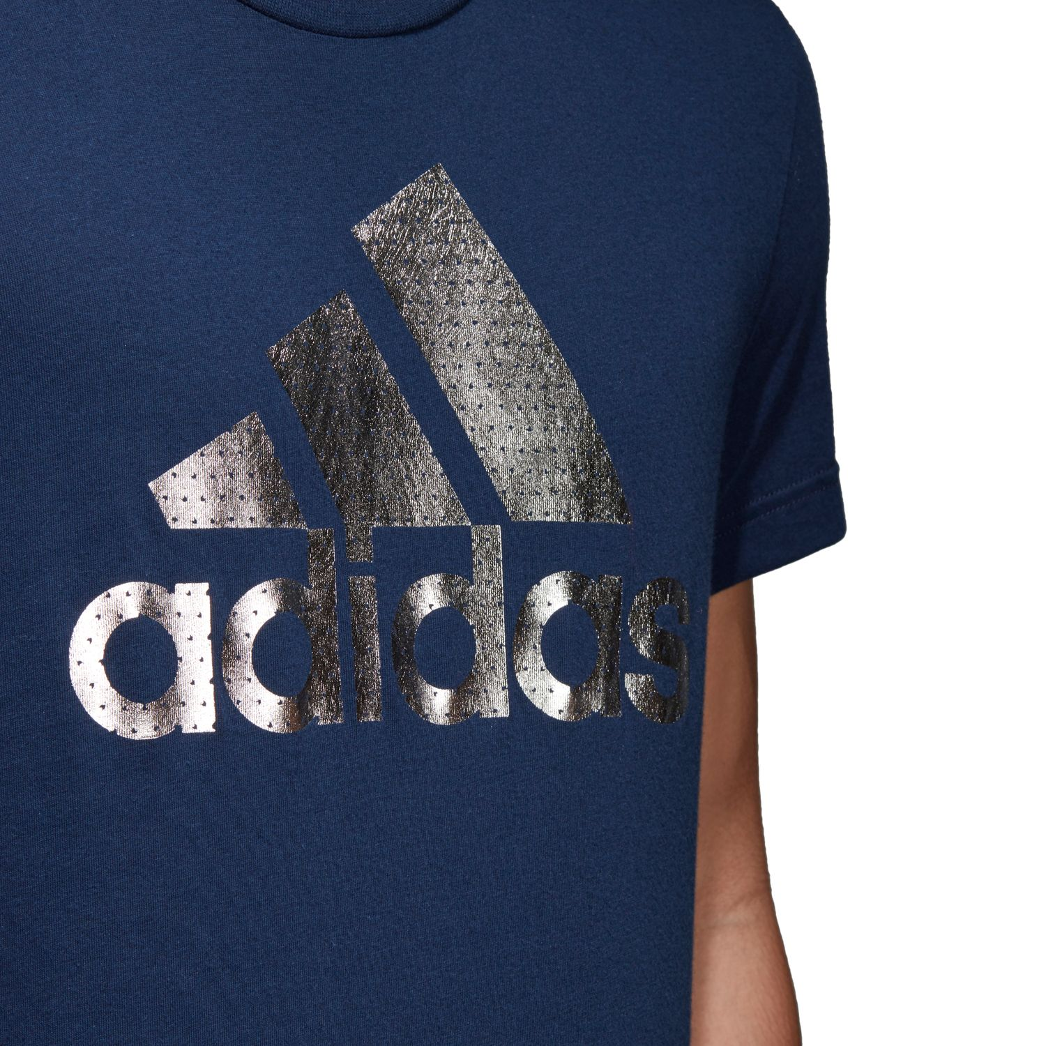 adidas Badge of Sport Foil Herren T-Shirt – Bild 4