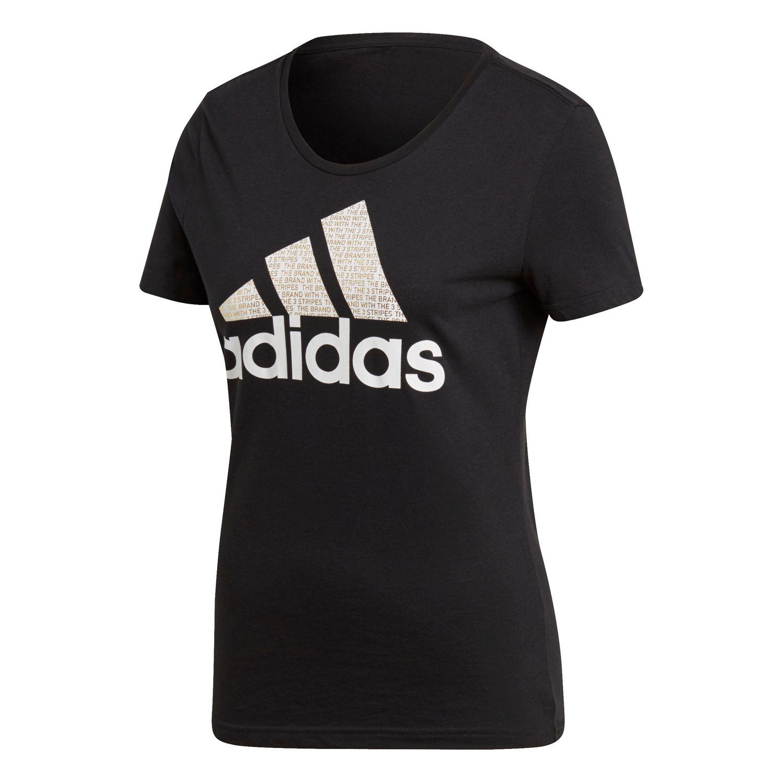 adidas Foil Badge of Sport Tee Damen T-Shirt – Bild 1