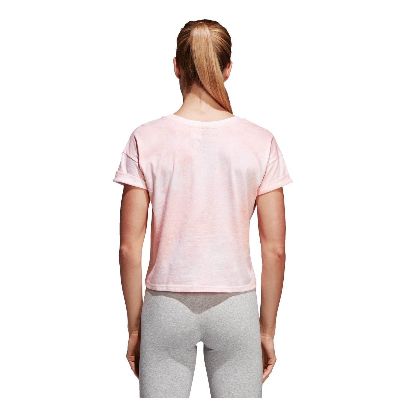 adidas Essentials All Over Printed Damen T-Shirt – Bild 2