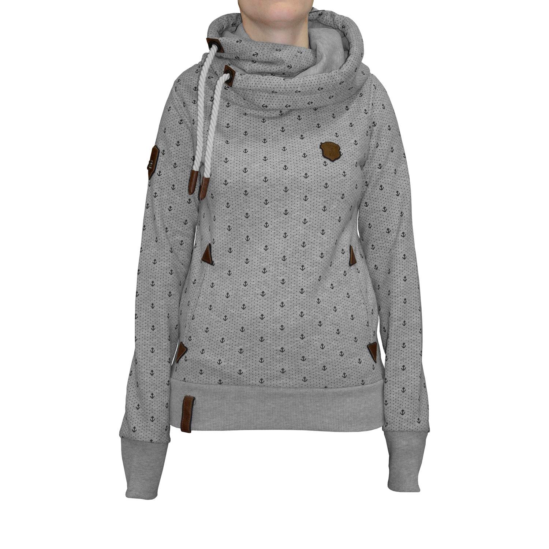 Naketano Darth Ankerdizzel IV Damen Kapuzenpullover Hoodie – Bild 1