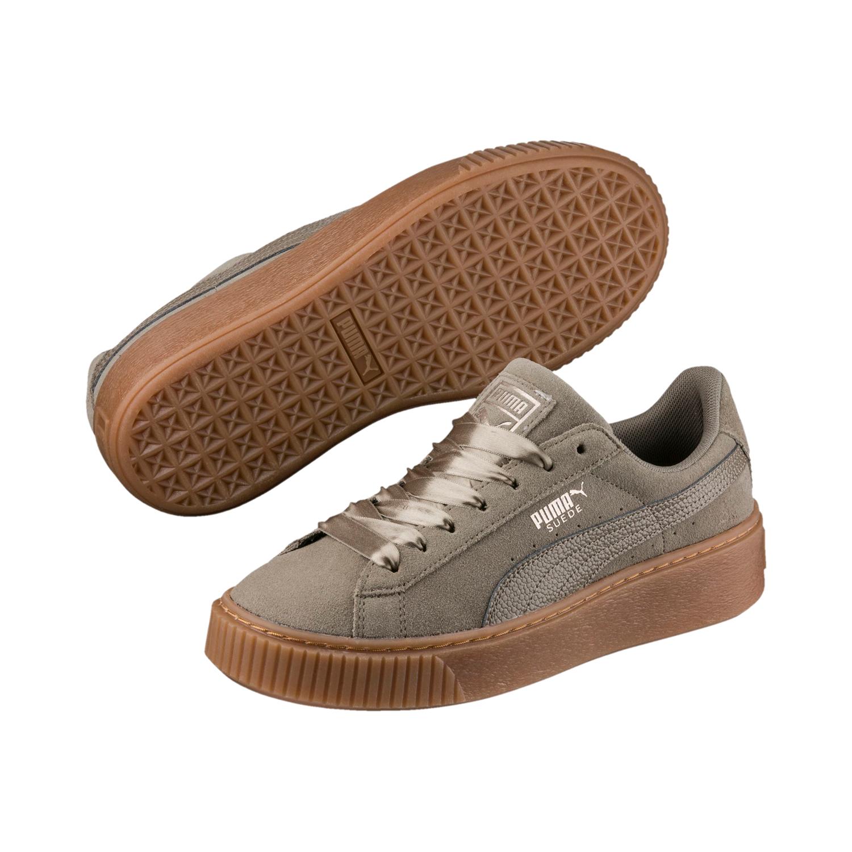 Puma Suede Platform Bubble Damen Sneaker – Bild 1