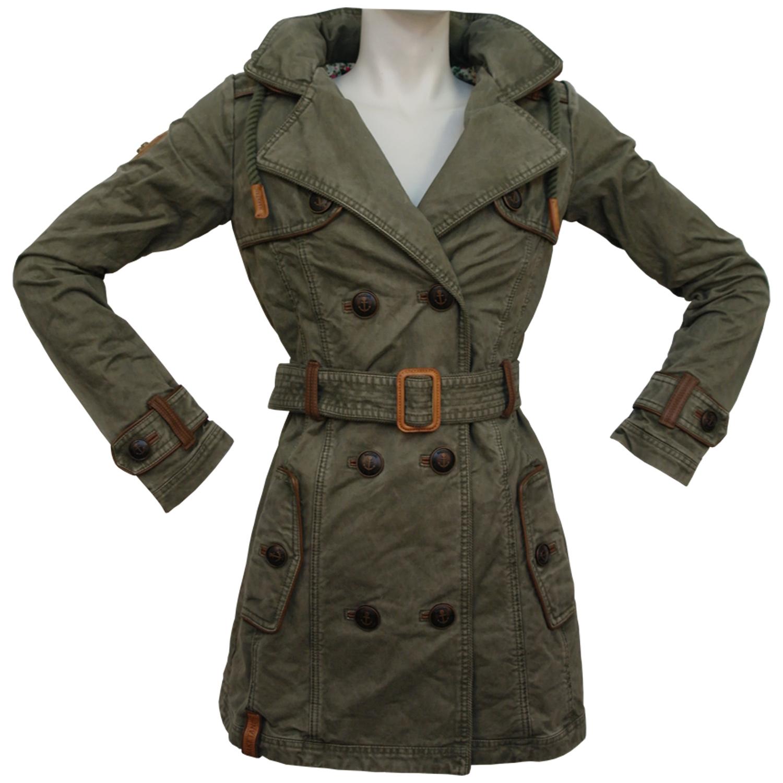 naketano one for all damen trenchcoat jacke damen bekleidung jacken. Black Bedroom Furniture Sets. Home Design Ideas