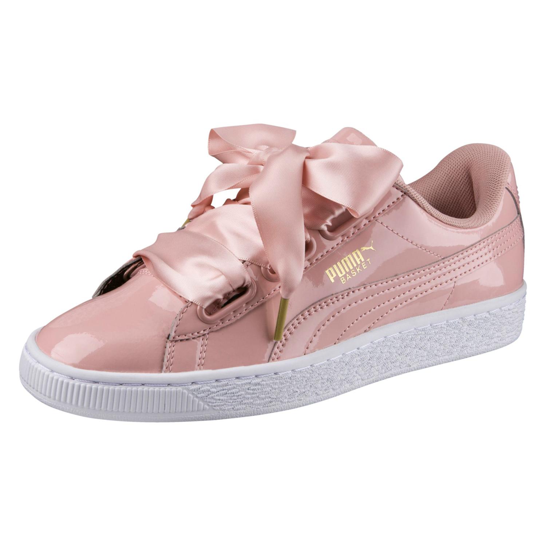 Puma Basket Heart Patent Damen Sneaker