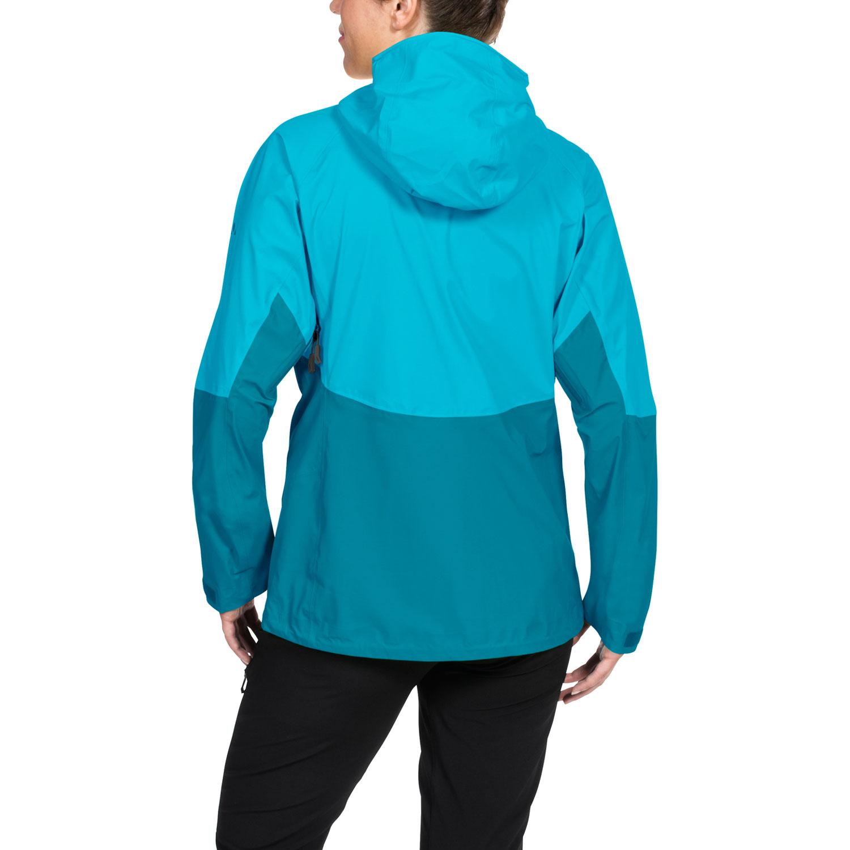 Vaude Croz 3L Jacket II Damen Outdoorjacke – Bild 4