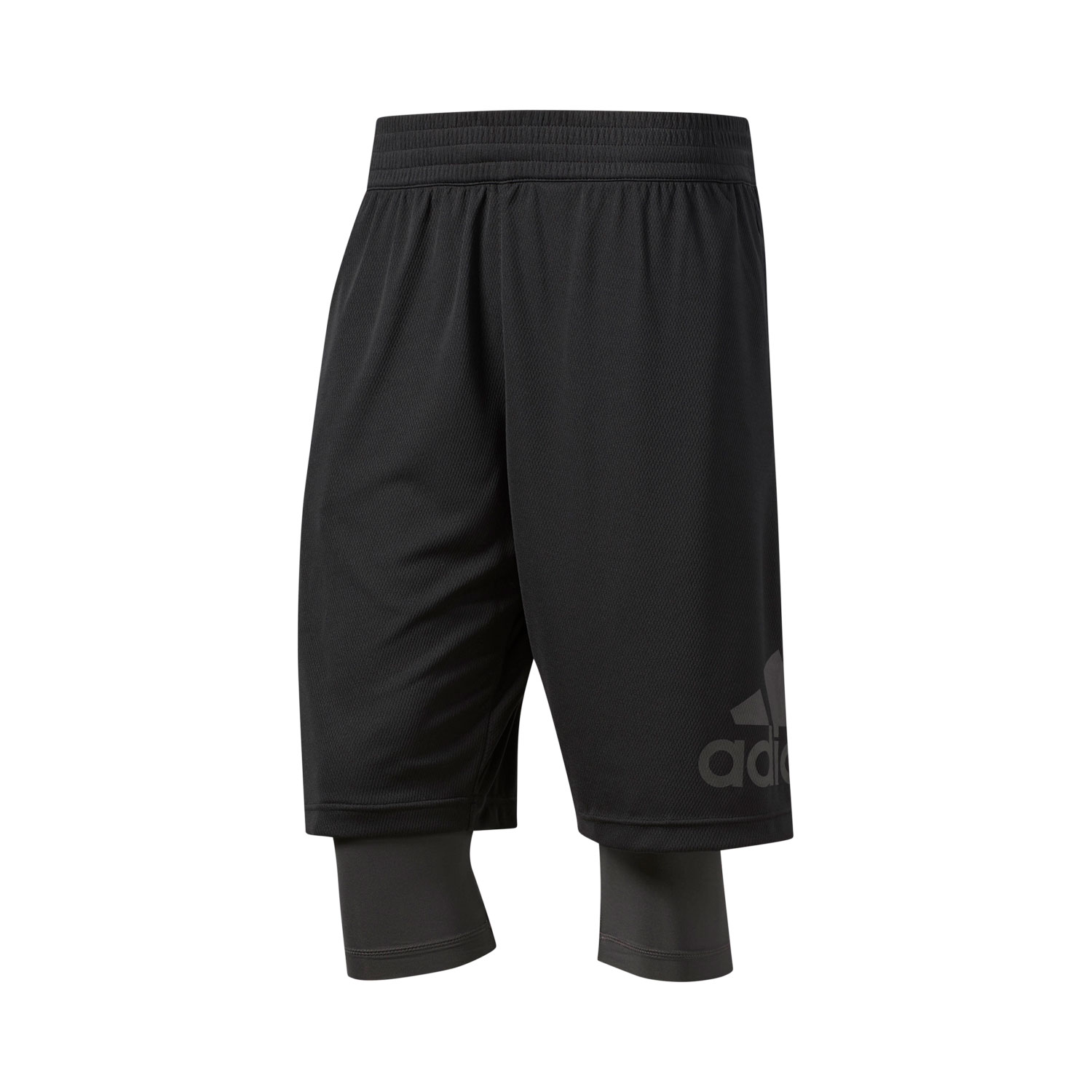 Adidas Dame Foundation 2in1 Herren Basketball Shorts – Bild 1