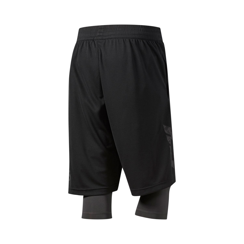 Adidas Dame Foundation 2in1 Herren Basketball Shorts – Bild 2