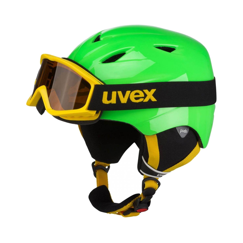 Uvex Airwing 2 Set Skihelm + Skibrille