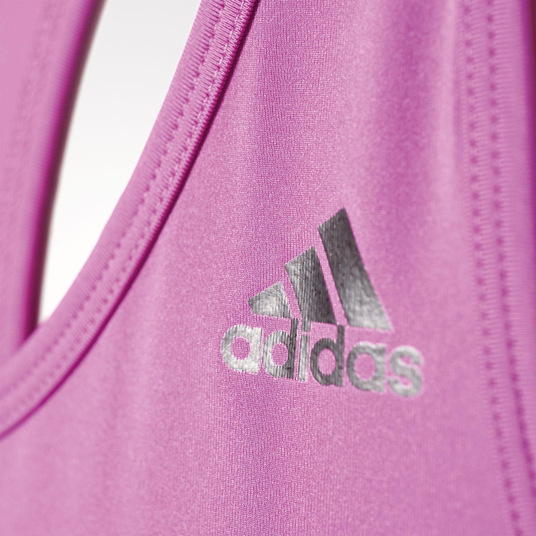 adidas Basic 3S Tank Damen Fitness Tanktop – Bild 5