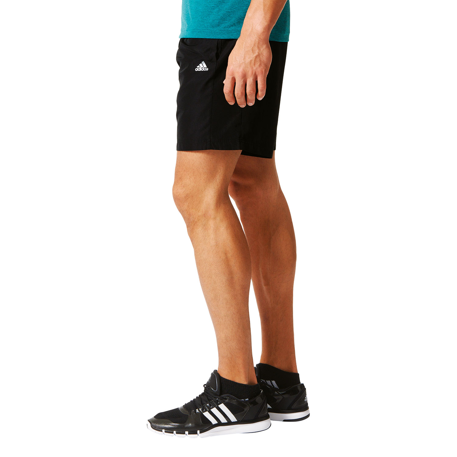 adidas Base Plain Short Woven Herren Trainingsshort – Bild 3