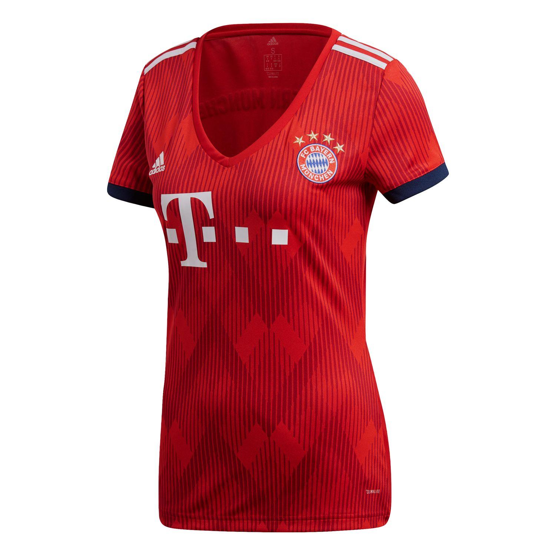 adidas FC Bayern München Damen Heimtrikot Replica – Bild 1