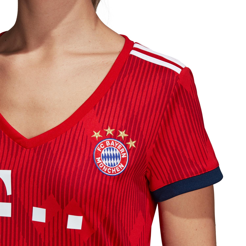 adidas FC Bayern München Damen Heimtrikot Replica – Bild 4