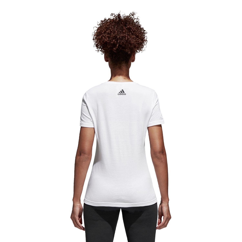 adidas Foil Logo Damen T-Shirt – Bild 2