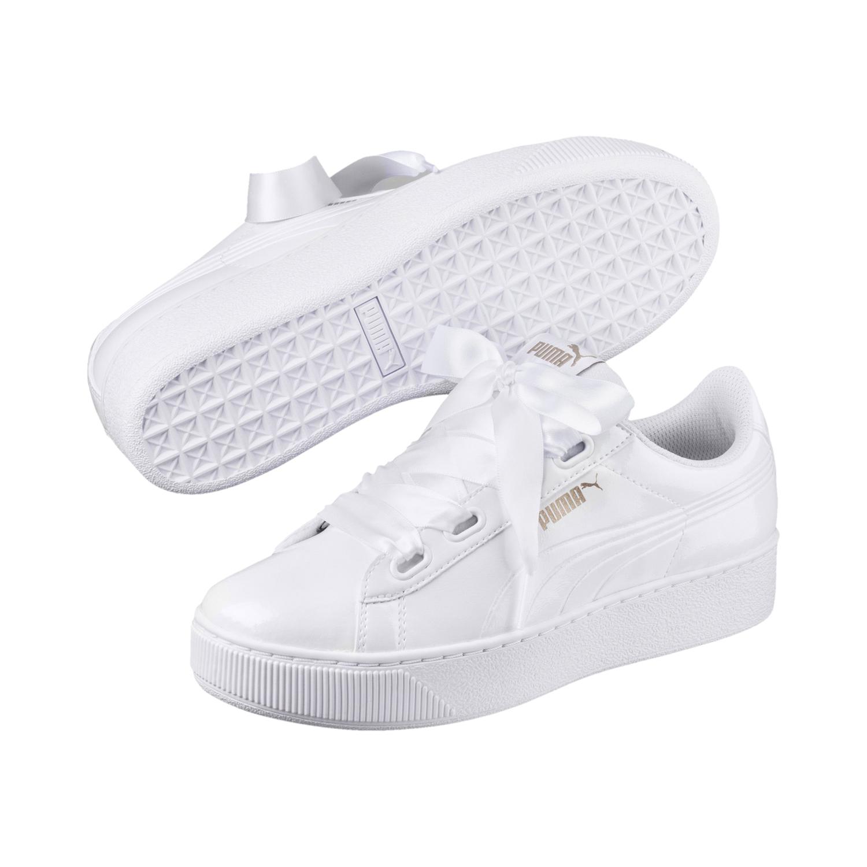Puma Vikky Platform Ribbon Damen Sneaker – Bild 1