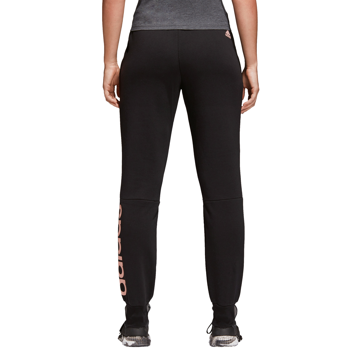 Adidas Essentials Linear Pant Damen Trainingshose – Bild 4