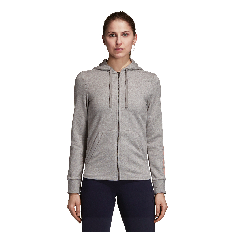 Adidas Essentials Fullzip Damen Hoodie – Bild 2