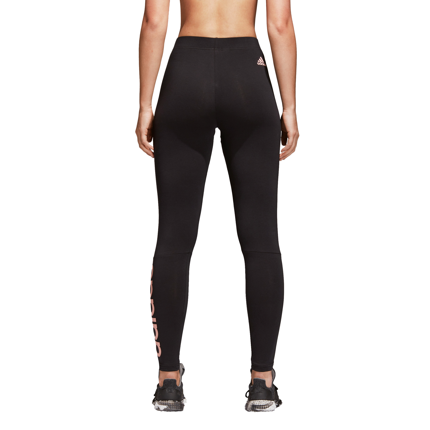 Adidas Essentials Linear Damen Tight – Bild 4