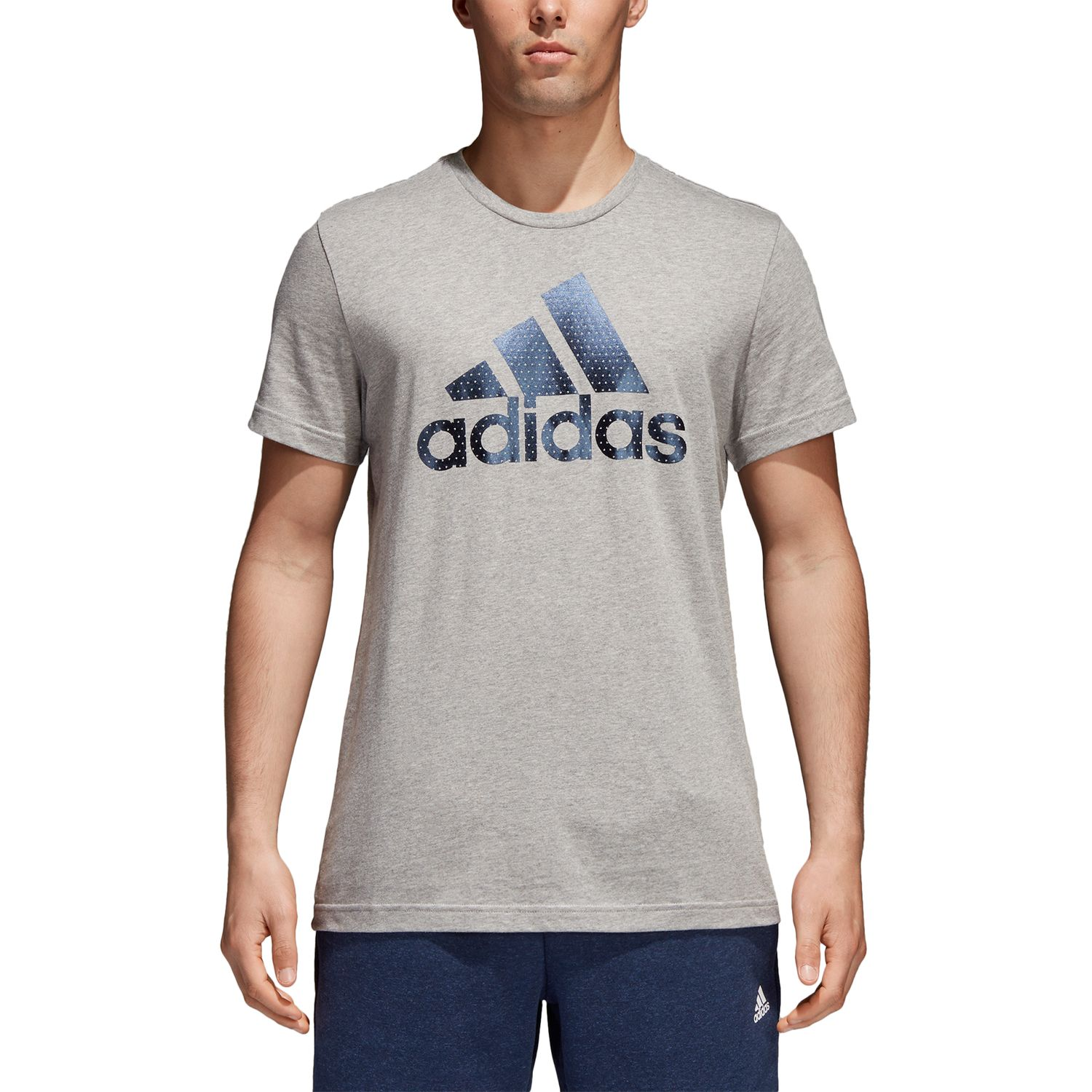 adidas Badge of Sport Foil Herren T-Shirt – Bild 2