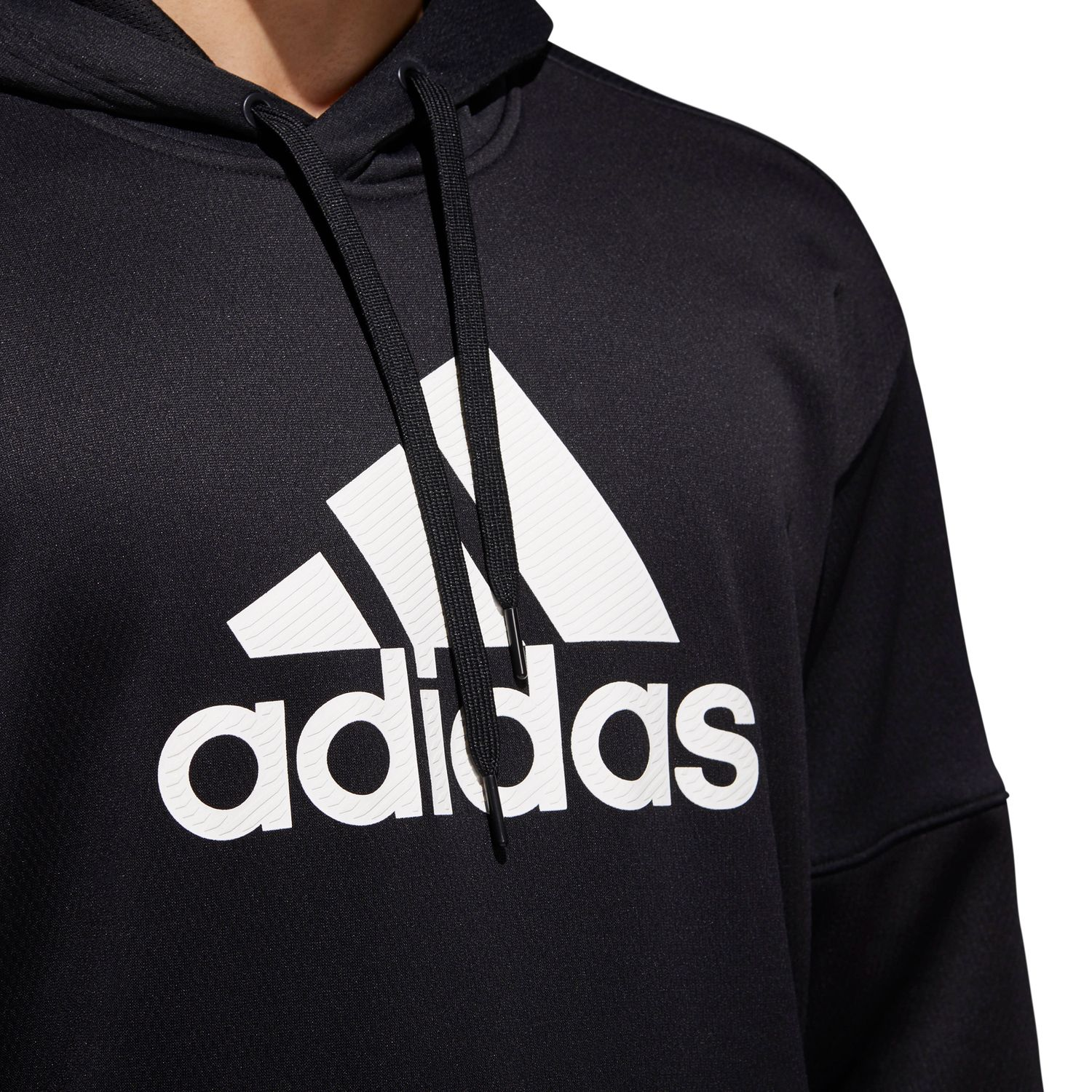 adidas Team Issue Badge of Sport Herren Hoodie Kapuzenpullover – Bild 4