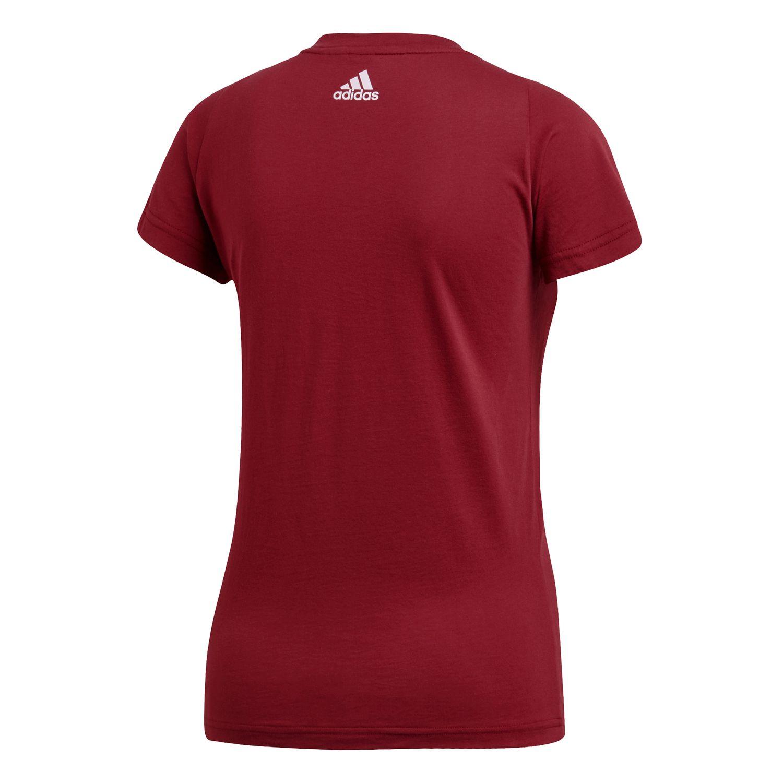 adidas Essentials Linear Damen T-Shirt – Bild 2
