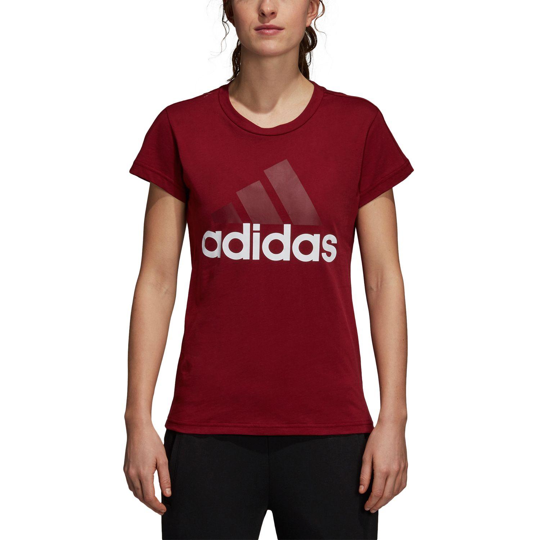adidas Essentials Linear Damen T-Shirt – Bild 3
