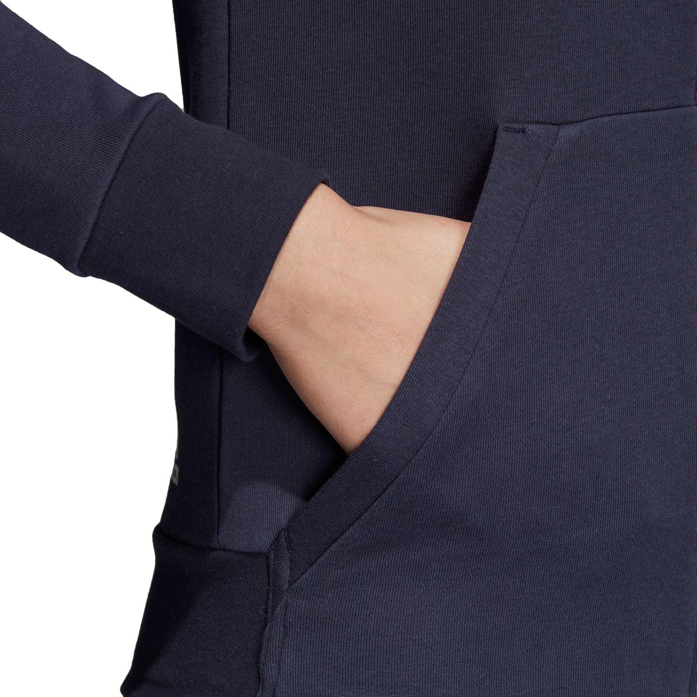 adidas Essentials Linear Damen Kapuzenjacke – Bild 4