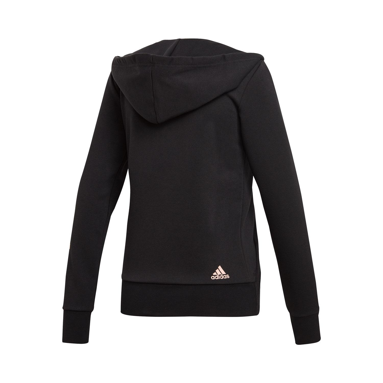 Adidas Linear Fullzip Damen Hoodie – Bild 2
