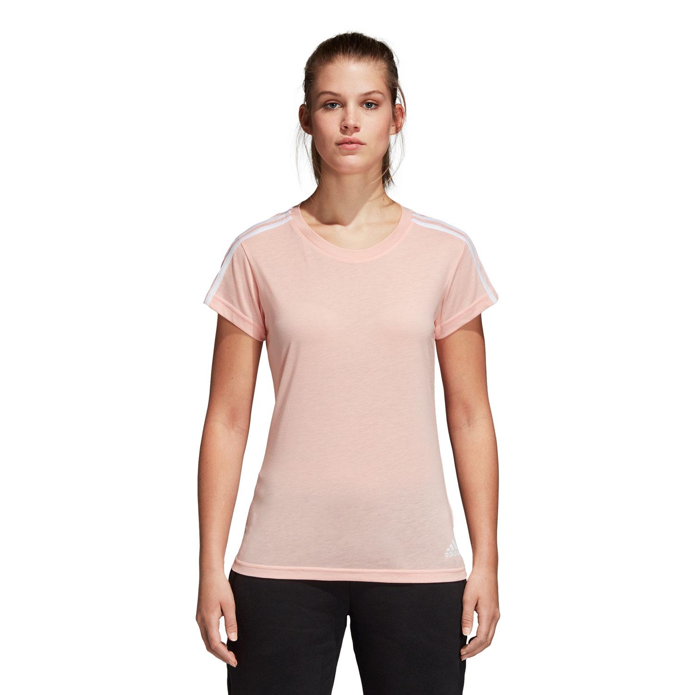 Adidas Essentials 3S Slim Damen T-Shirt – Bild 3