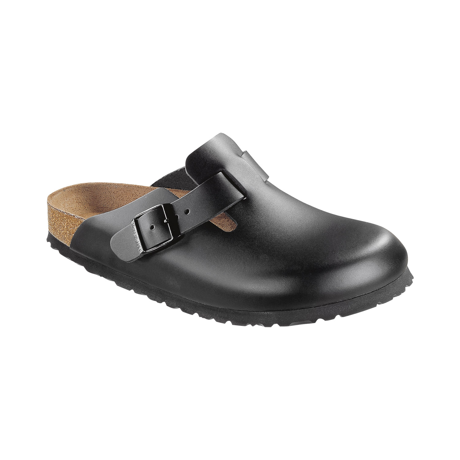 Birkenstock Boston Natural Leather Herren Clogs