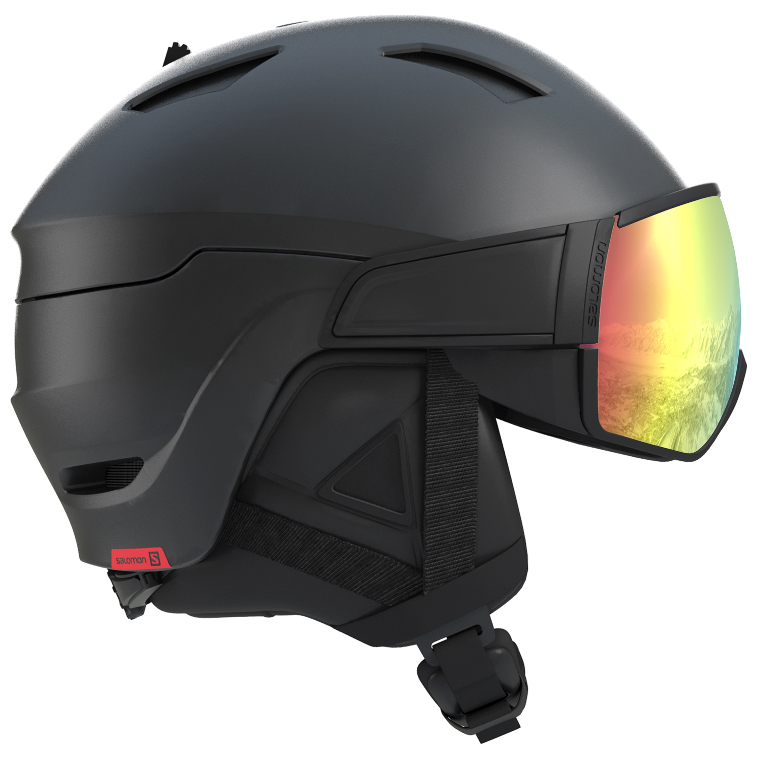 Salomon Driver Photo CD Herren Skihelm