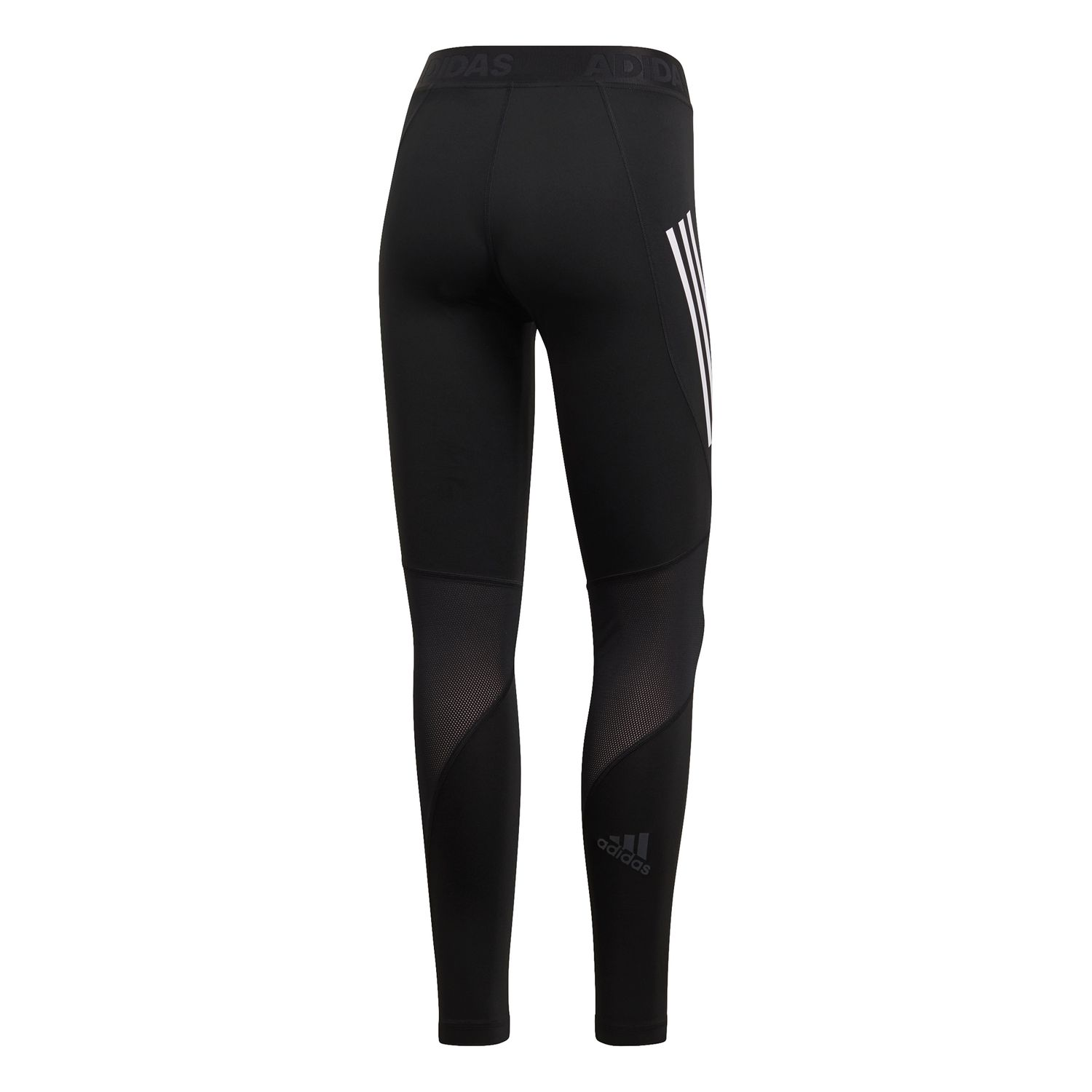 adidas Alphaskin Sport 3-Streifen lange Tight Damen Leggings – Bild 2