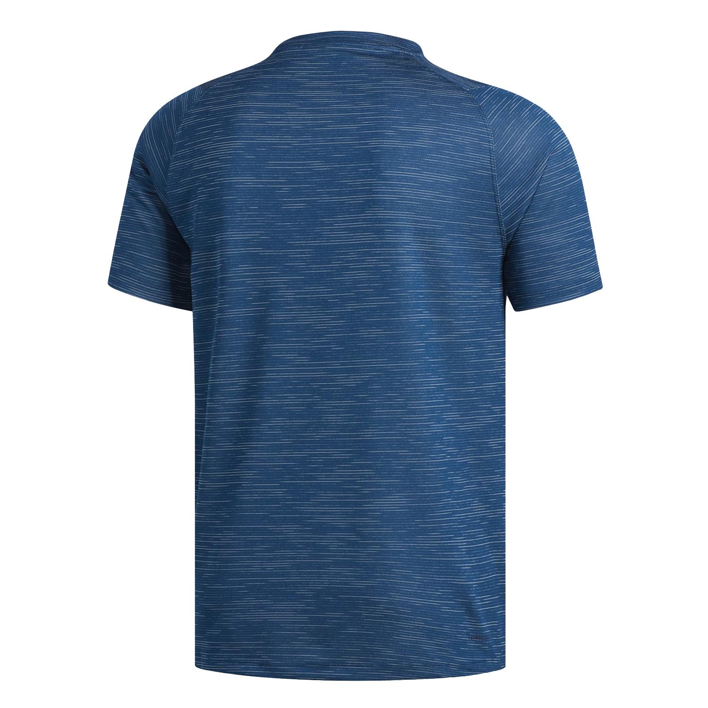 adidas Freelift Tech Fitted Striped Heathered Herren T-Shirt – Bild 2