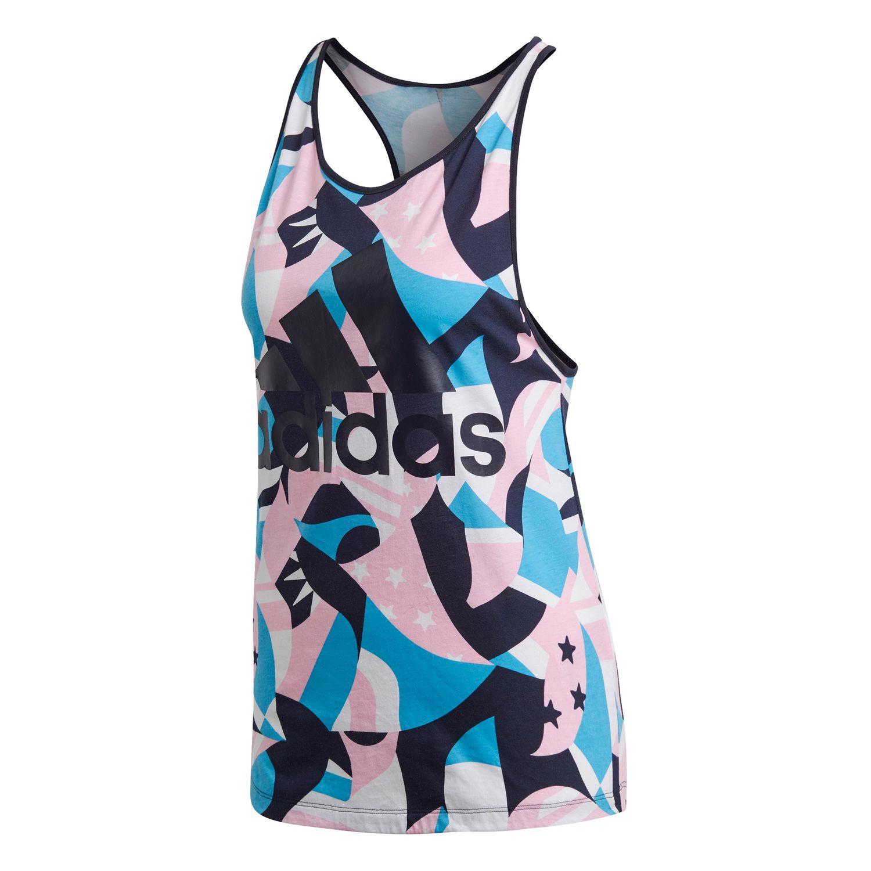 adidas Sport ID Printed Damen Tanktop – Bild 1