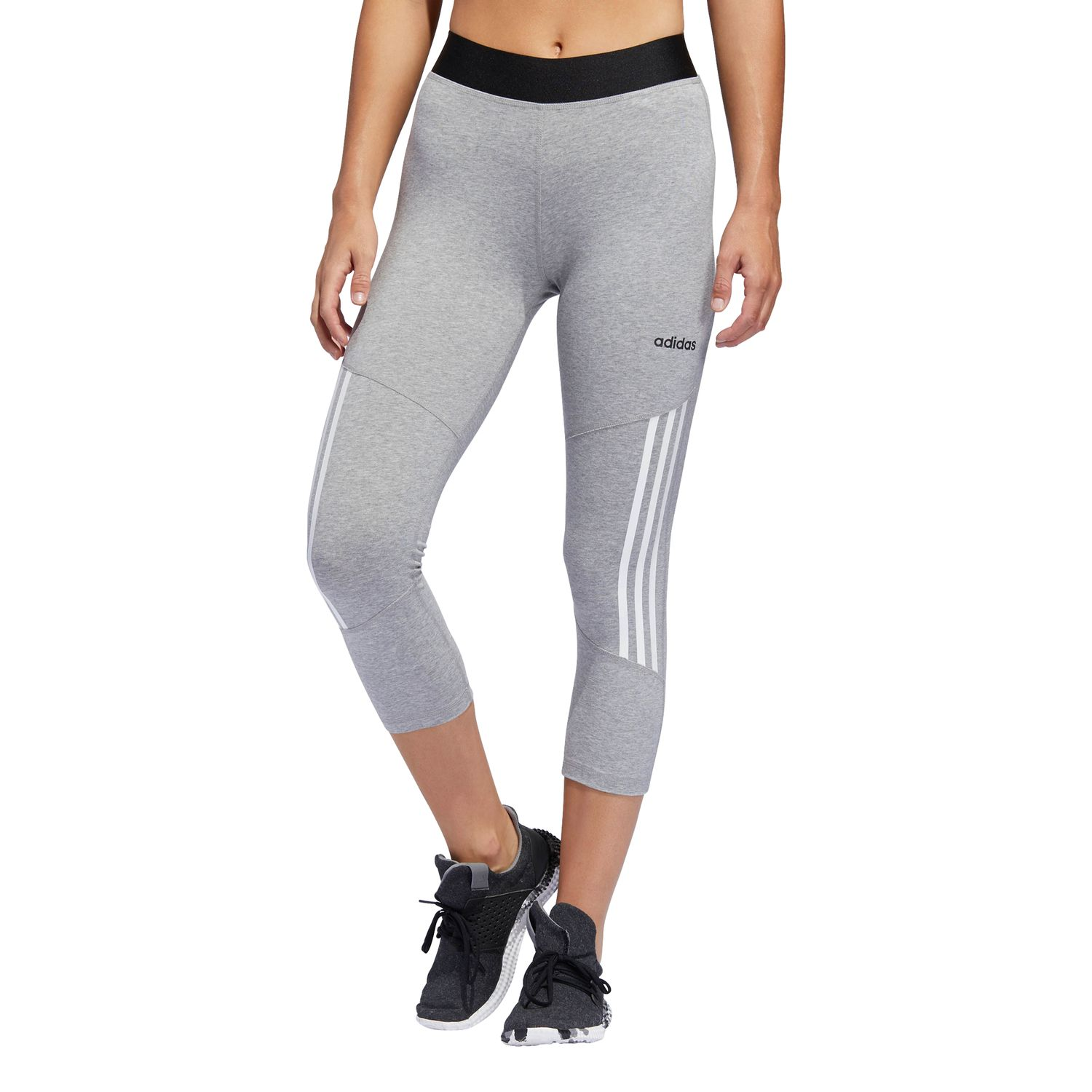 adidas Design 2 Move High-Rise 3-Streifen 3/4-Tight Damen Leggings – Bild 3