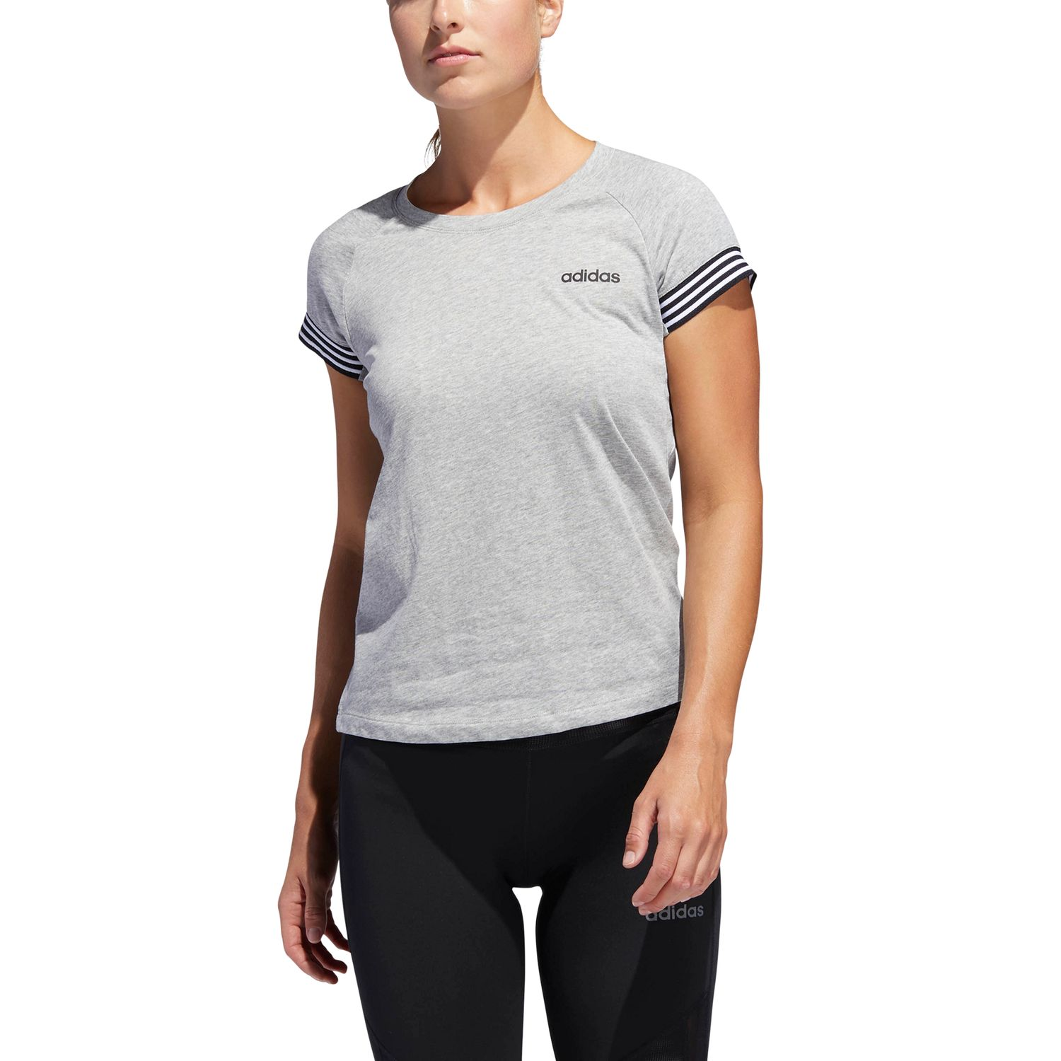 adidas Cotton Prime Damen T-Shirt – Bild 3