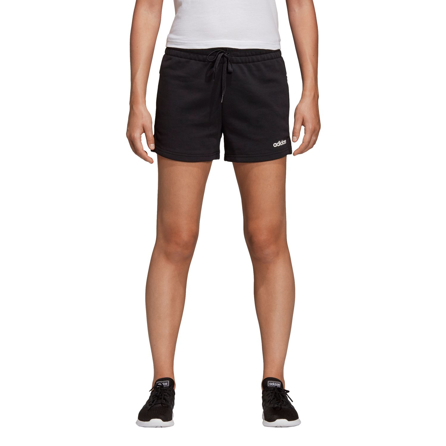 adidas Essentials Solid Damen Short – Bild 3