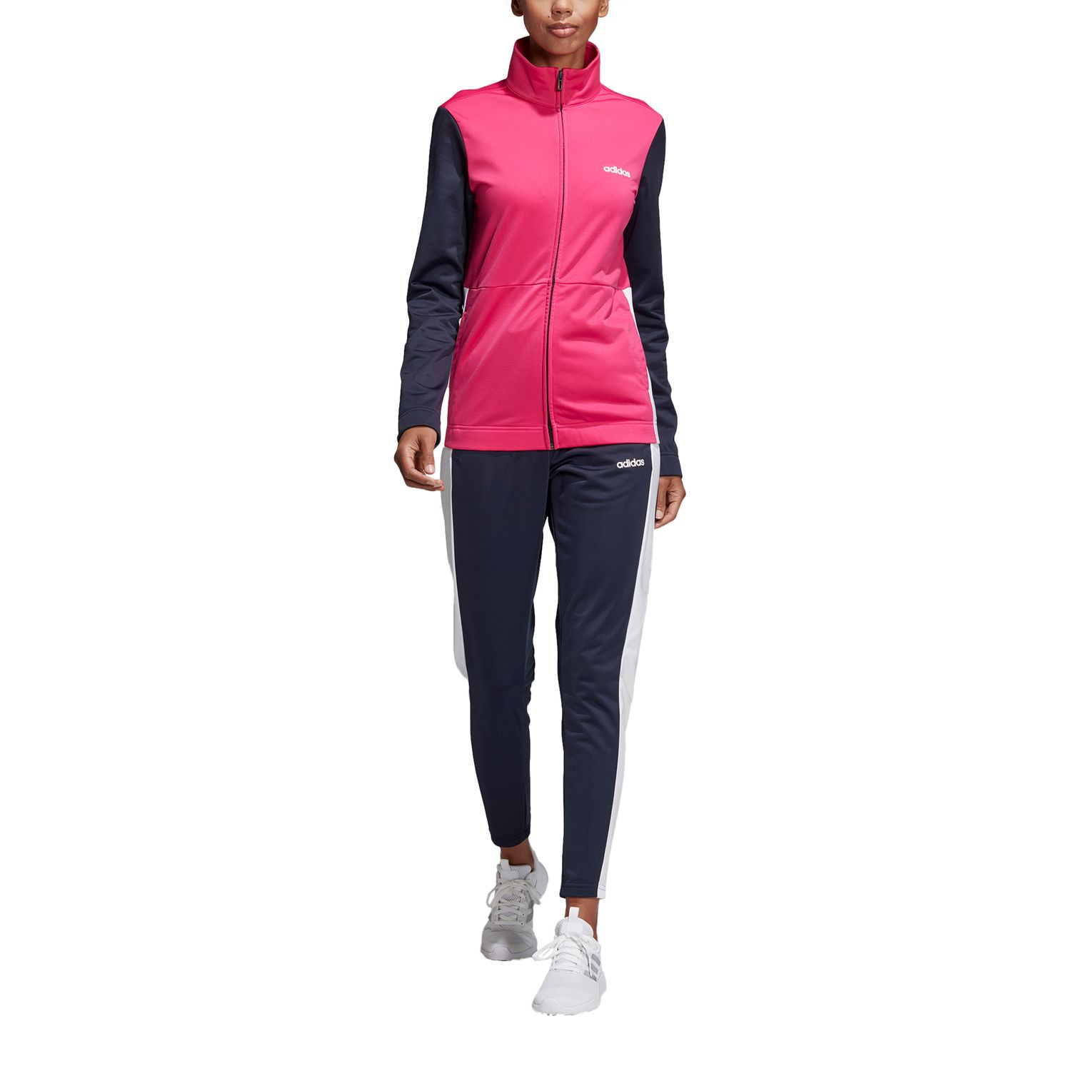 adidas Plain Tricot Damen Trainingsanzug