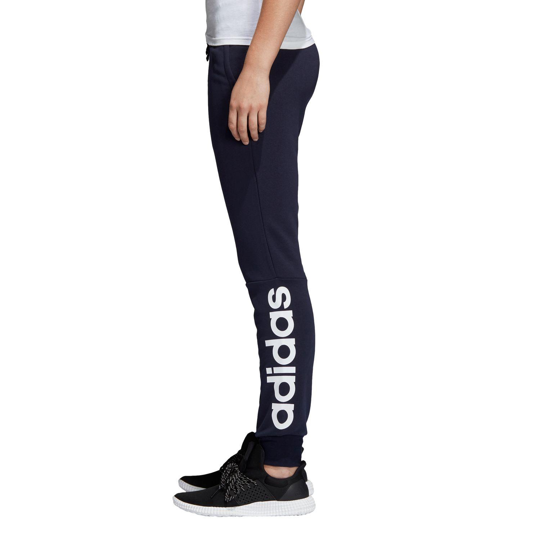 adidas Essentials Linear Cuffed Damen Trainingshose – Bild 4