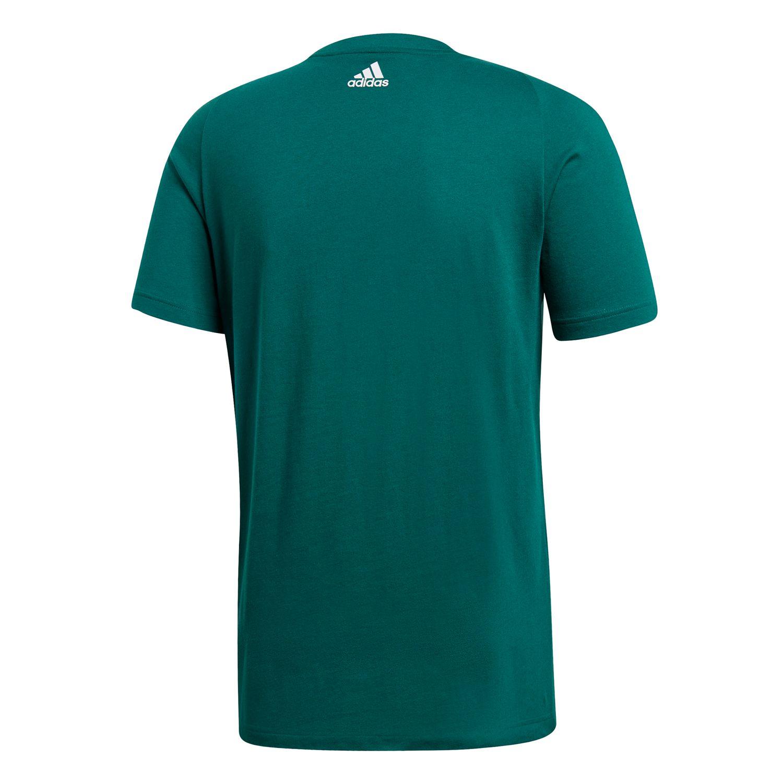 adidas Essentials Linear Herren T-shirt  – Bild 2
