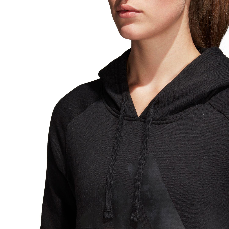 adidas Essentials Linear Overhead Fleece Damen Hoodie – Bild 4