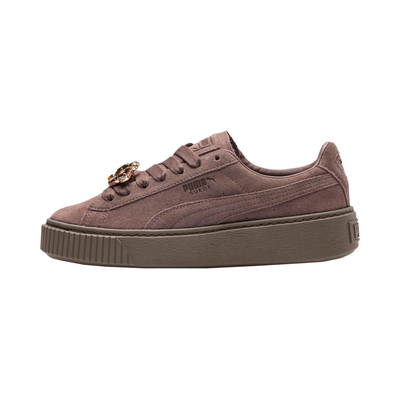 b8d96fc10a5c60 Puma Suede Platform Gem Damen Sneaker Damen Schuhe Sneaker