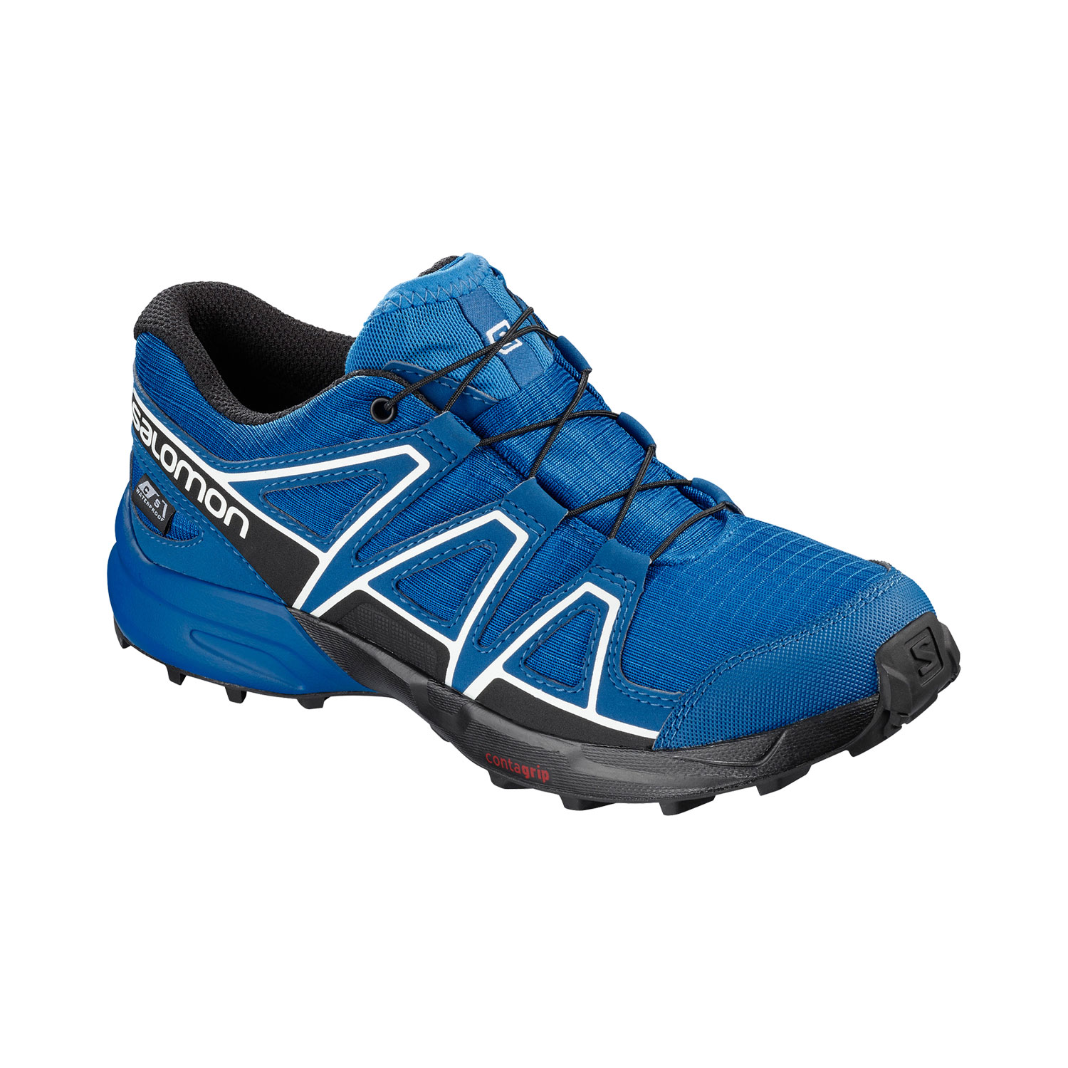 Salomon Speedcross CSWP J Kinder Trail Laufschuhe