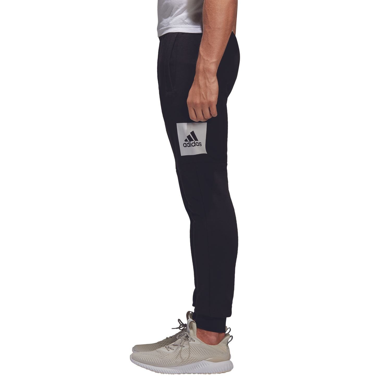 adidas Essentials Box Logo Herren Trainingshose – Bild 4