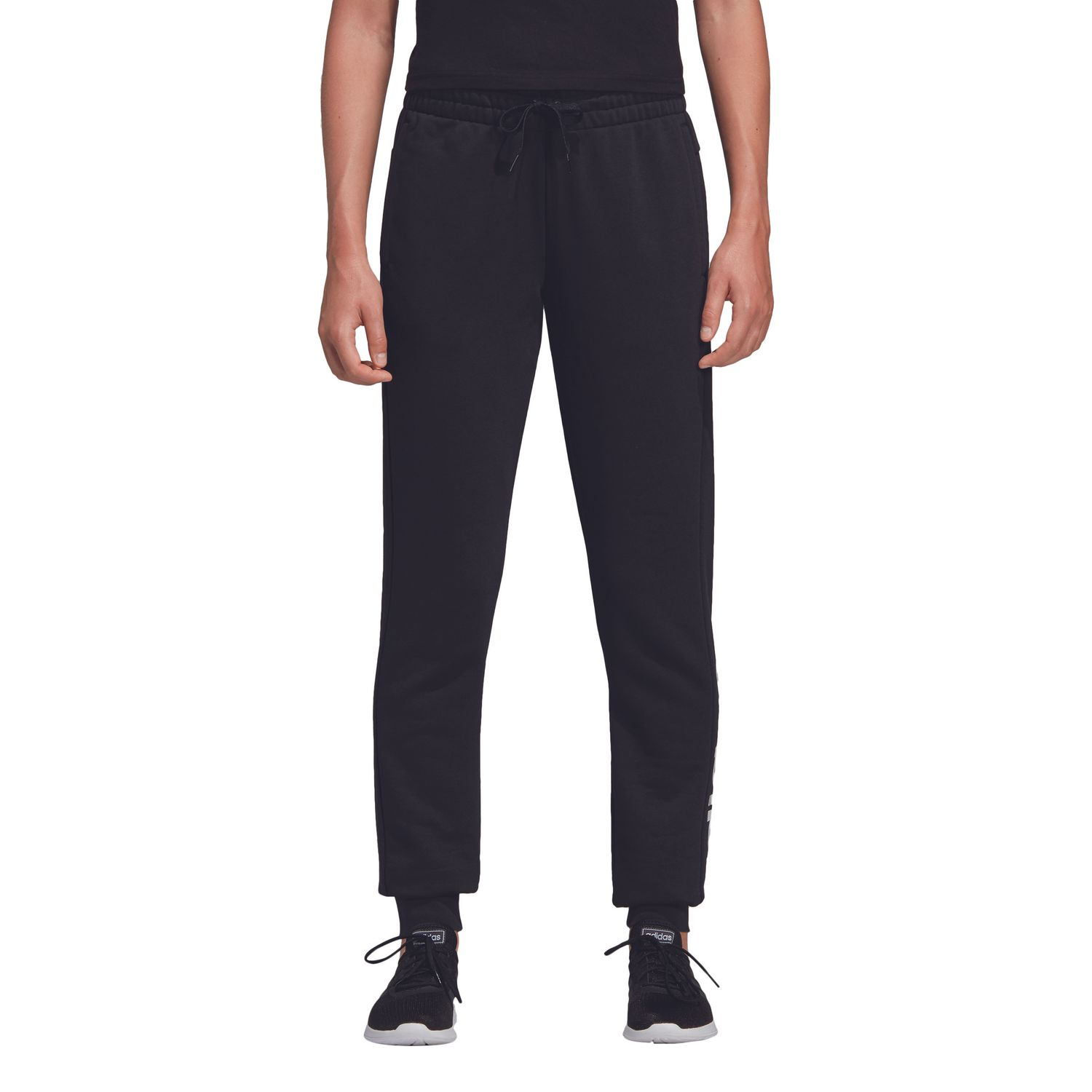adidas Essentials Linear Damen Trainingshose – Bild 2
