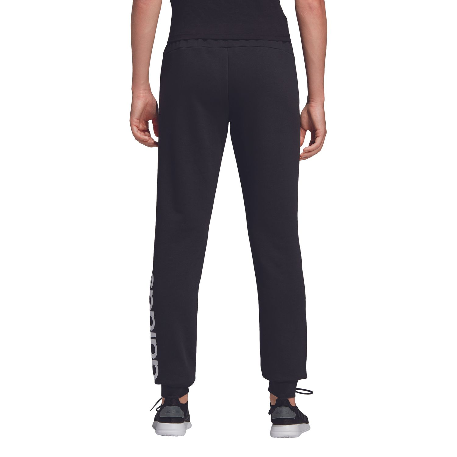adidas Essentials Linear Damen Trainingshose – Bild 3