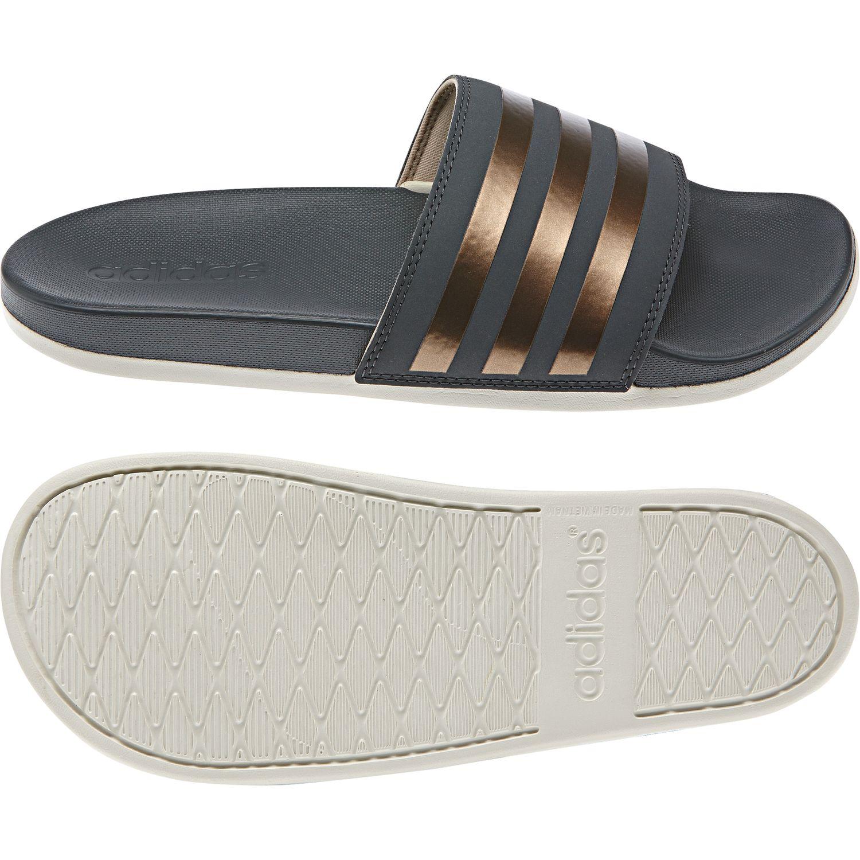 adidas Adilette Comfort Slipper Damen Badeschuhe – Bild 1
