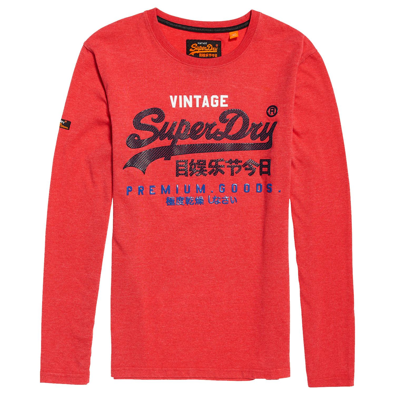 Superdry Premium Goods Infill Herren Langarm-Shirt
