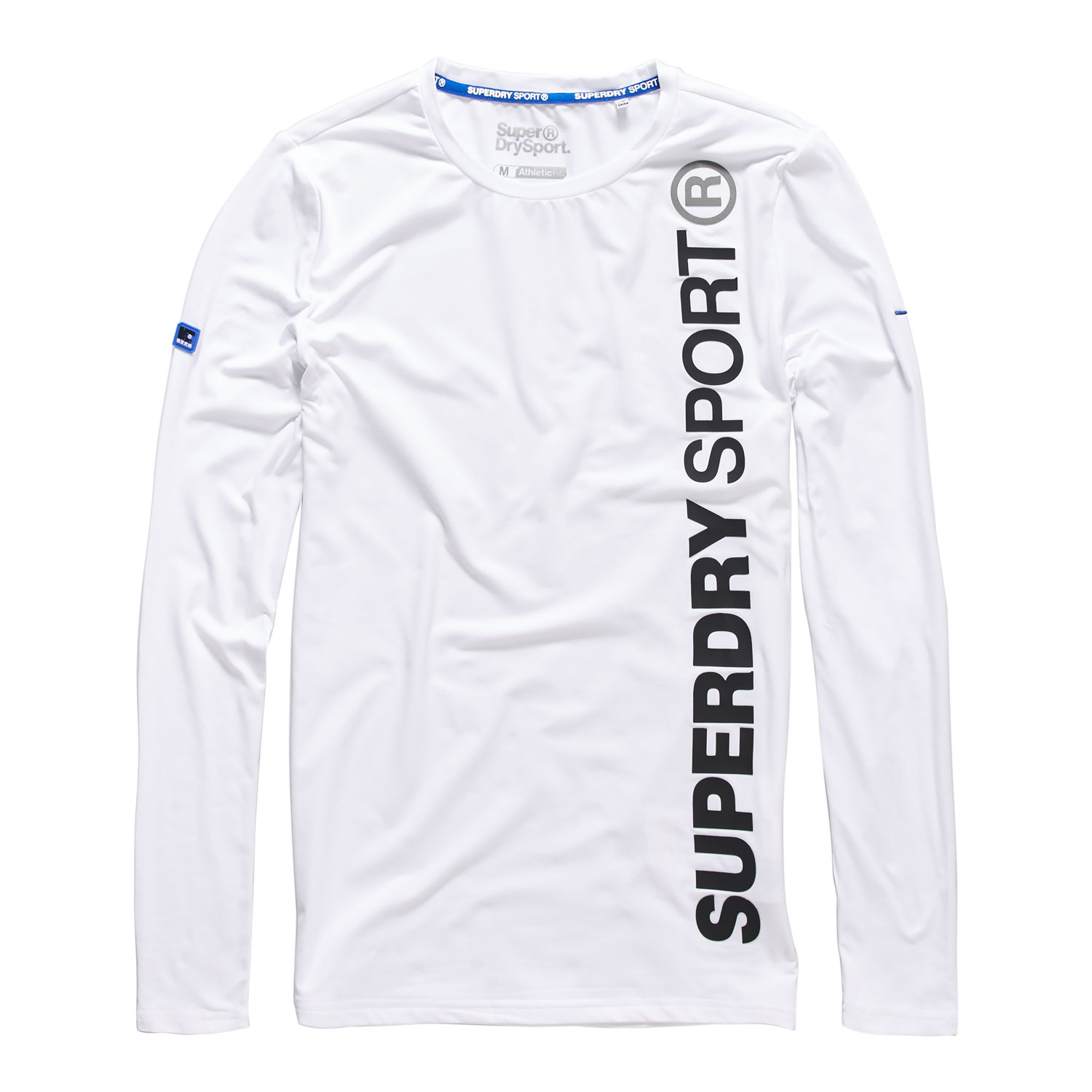 Superdry Sports Athletic L/S Herren Shirt