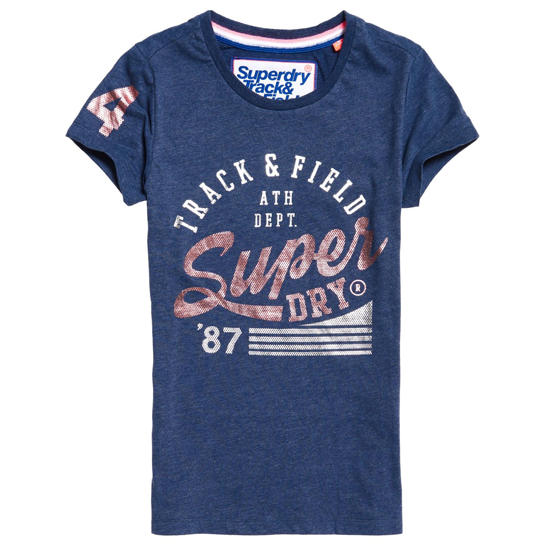 Superdry Track & Field Entry Damen T-Shirt