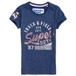 Superdry Track & Field Entry Damen T-Shirt