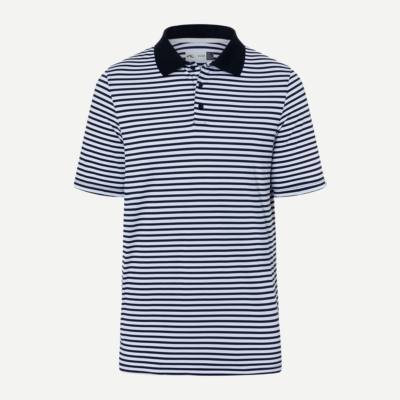 Kjus Luis Stripe S/S Herren Poloshirt